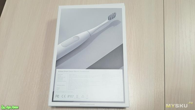 Зубная щетка Oclean Z1 - очень достойная щетка