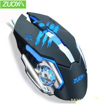 Купоны 1$/3$ и 2$/6$ на компьютерные мыши Zuoya