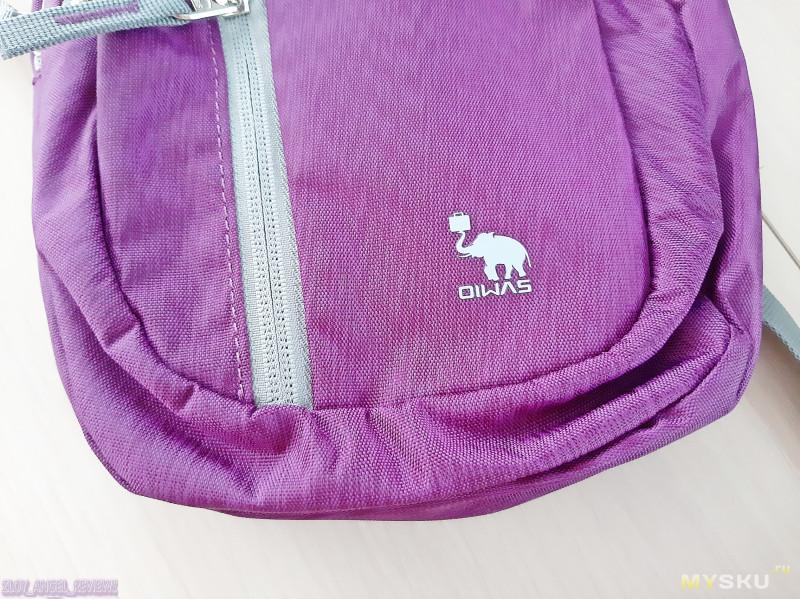 2 рюкзака на одно плечо OIWAS Chest Bag. Компактные, но вместительные.