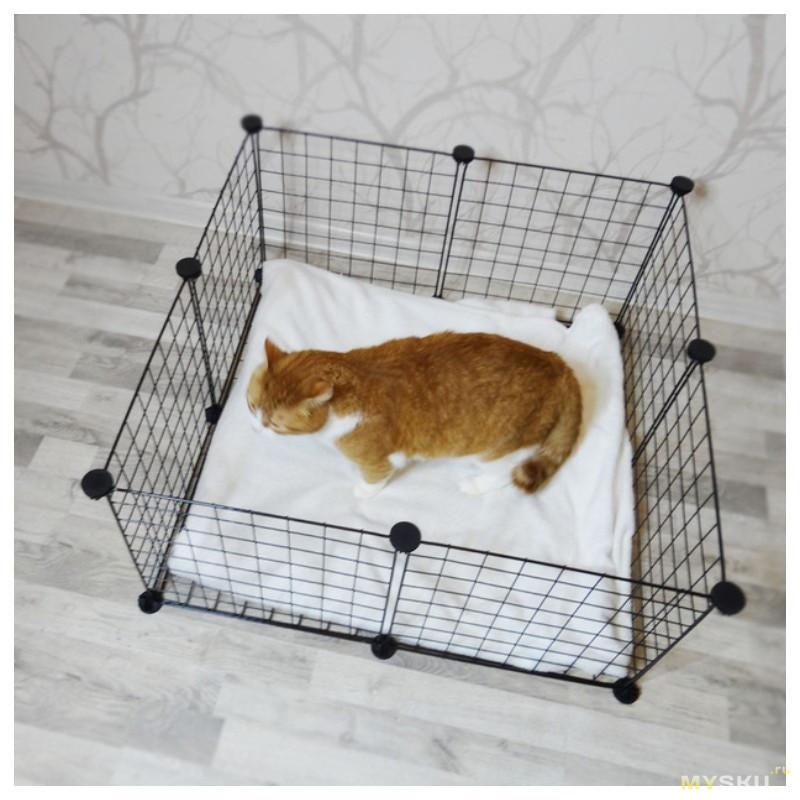 Быстросборный вольер для домашних животных от 8,8$