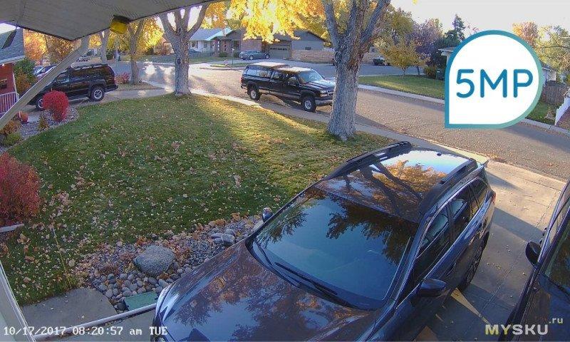 5-мегапиксельная купольная камера наружного видеонаблюдения  с PoE Reolink RLC-520 за 35,70$