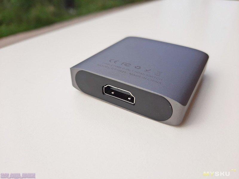Двунаправленный HDMI-свич Сabletime CT-HS21 . Проверка НА PS4 Pro, PC и TVbox