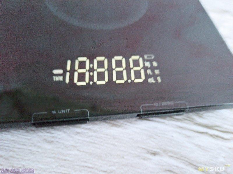 Кухонные весы BlitzWolf® BW-SC5. Сравнение измерений с проверенными кухонными весами Tefal