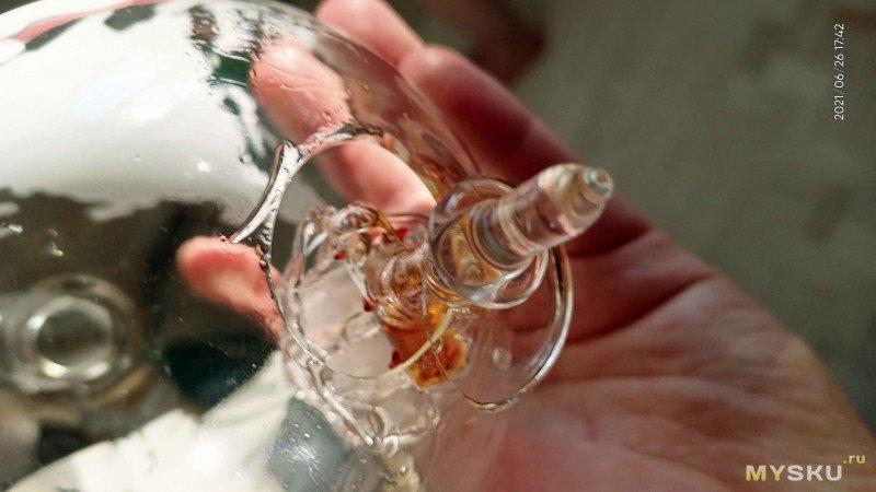 Красивый графин-декантер для алкогольных напитков. Обзор  с вынужденной разборкой
