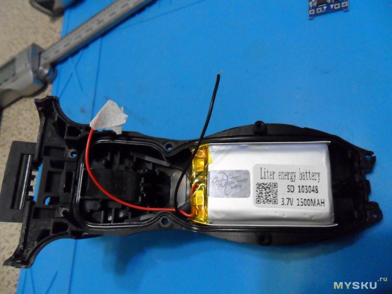 Литий-полимерная батарея и пример её применения, или очередное «облитивание».