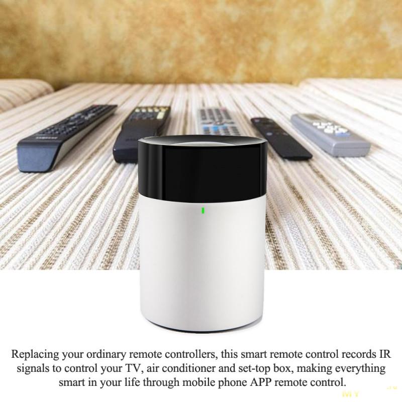 ИК-пульт дистанционного управления с возможностью управлять домашней техникой с телефона или голосовыми командами за $ 15.75(с купоном)