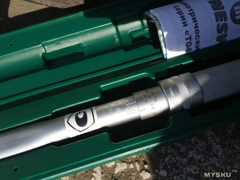 Аккумуляторный гайковерт WOSAI  WS-5006 против калиброванного динамометрического ключа