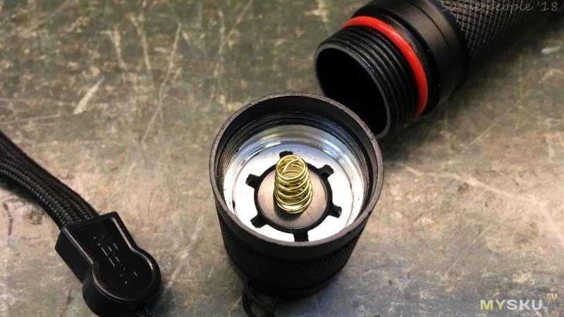 Линзованный светодиодный фонарик Chuangliangzhe с регулировкой фокуса