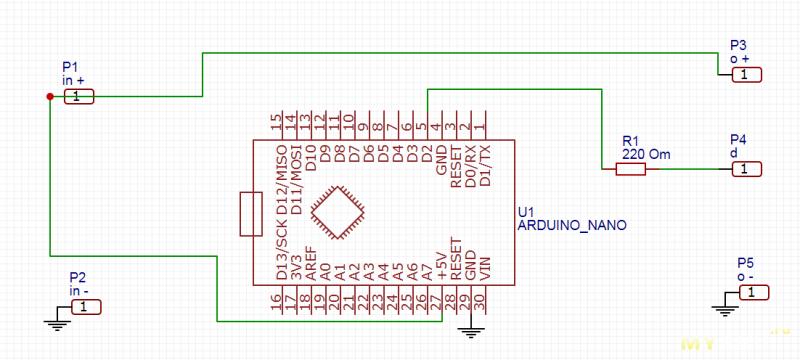 Еще одна гирлянда на Arduino