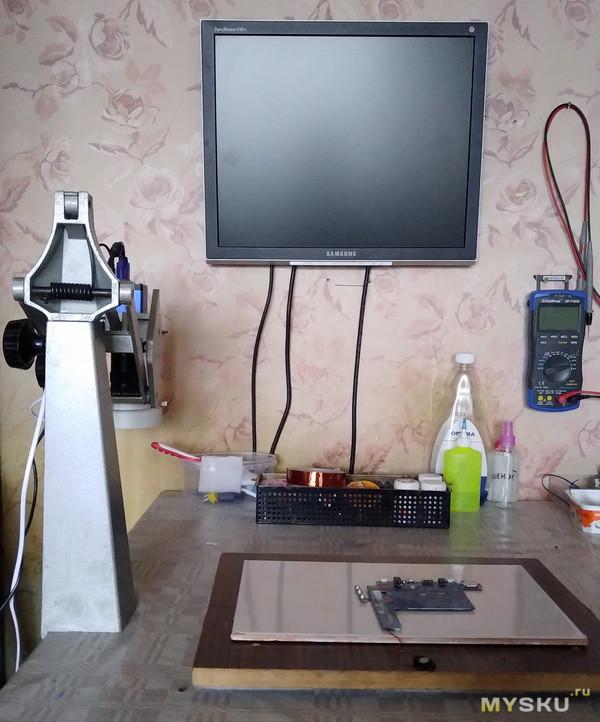 VGA / HDMI микроскоп. Скрещиваем ежа и ужа и делаем полезный инструмент.