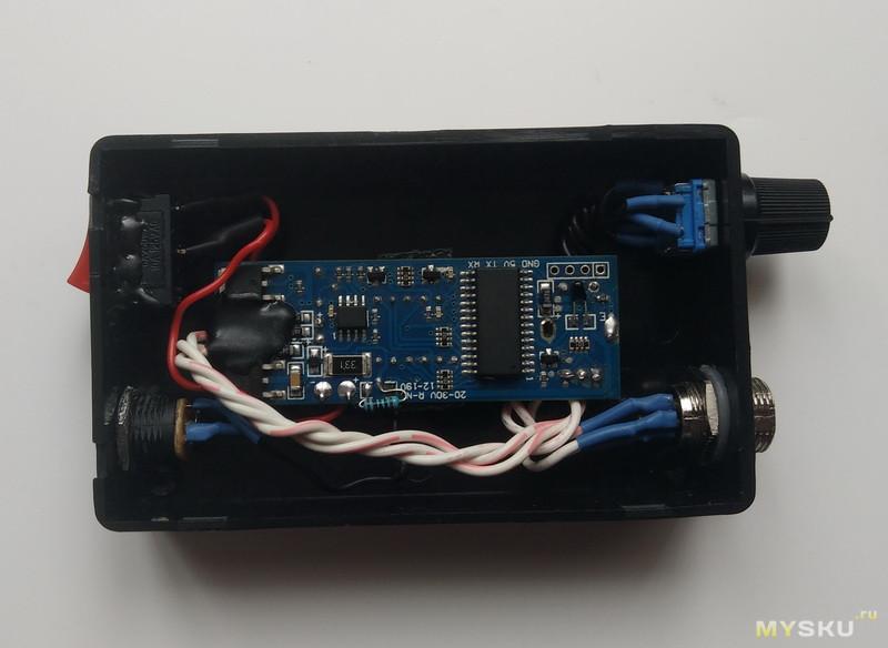 Небольшой корпус для DIY проектов электроники. T12 – в сумку с инструментом.