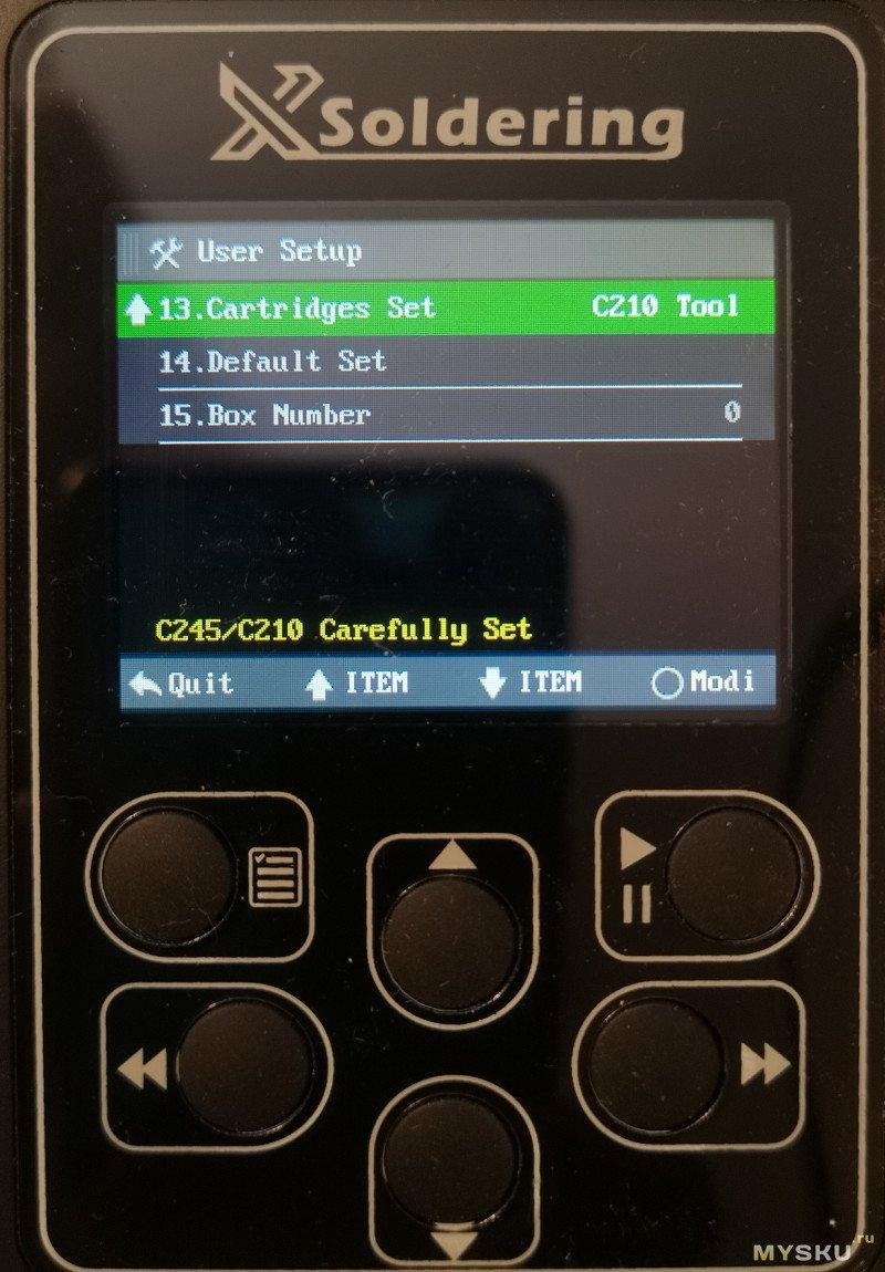 Паяльная станция XSOLDERING 200W жала JBC C210