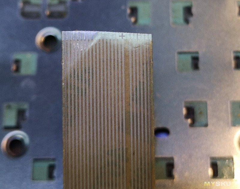 """Электропроводящая клейкая лента  3M 9703 ACF """"Анизотропная лента/скотч"""" и её применение."""