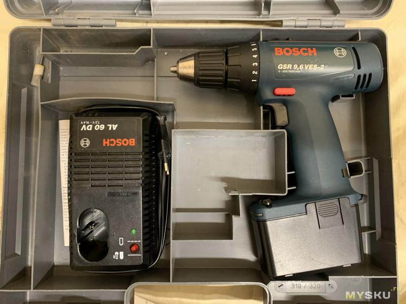 Плата BMS 3S 40A rev 2.3 для переделки питания шуруповерта Bosch GSR 9,6 на литий