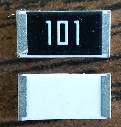 SMD резисторы 2512 100 Ом 1% 1W - 50шт