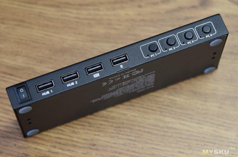 4х портовый HDMI KVM переключатель