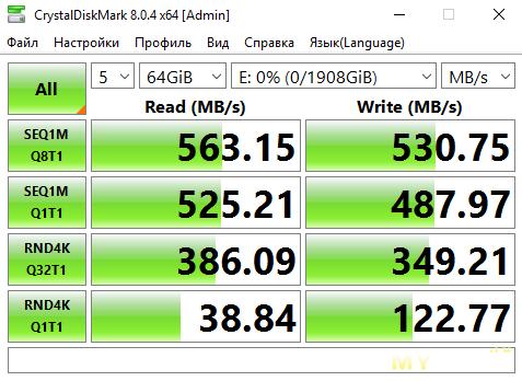 "SSD накопитель Samsung 860 PRO 2TB SATA 2.5"""