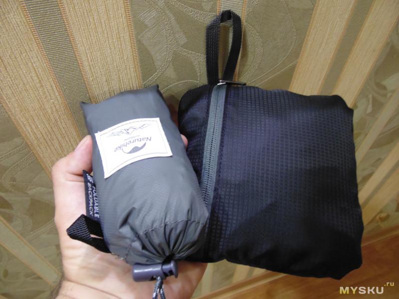 Качественный складной рюкзак на 18 литров за небольшие деньги
