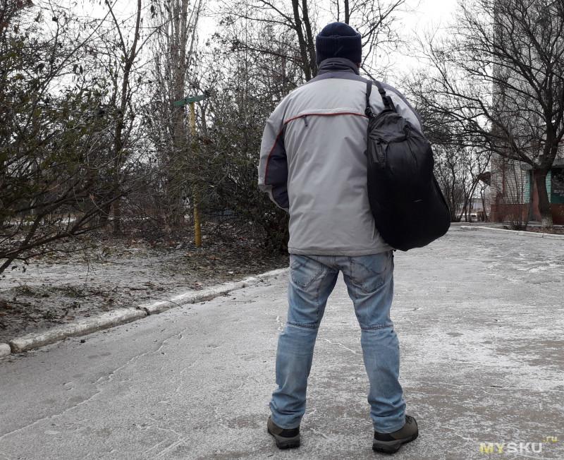 Сверхлёгкая складная дорожная сумка Naturehike NH17F010 объёмом 32 литра