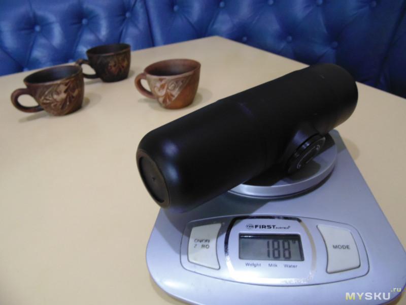 Ручная кофеварка KCASA KC-COFF20 для эспрессо, ристретто или лунго