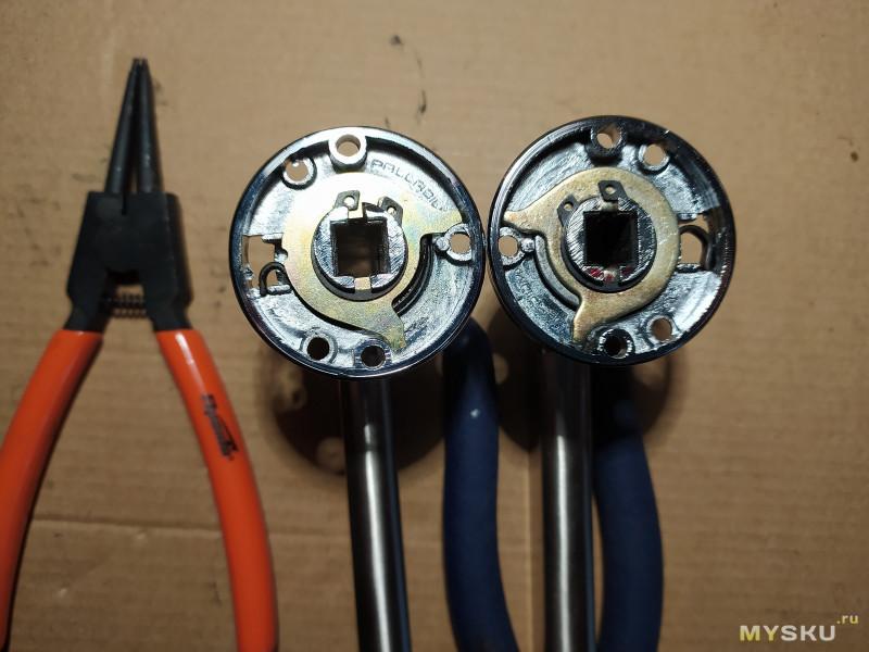 Пружины для ремонта дверных ручек