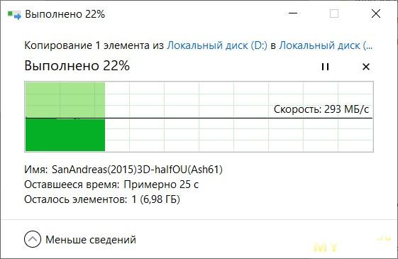 Небольшой обзор внешнего SSD диска KingSpec Z4 1Tb