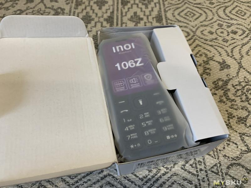 Обзор телефона INOI 106Z