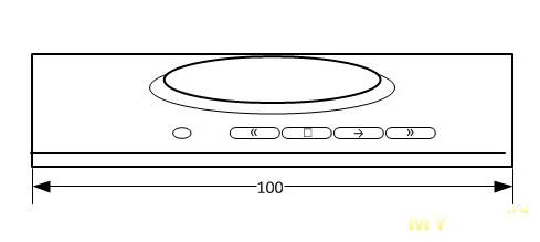 USB медиаконтроллер для windows и Android устройств