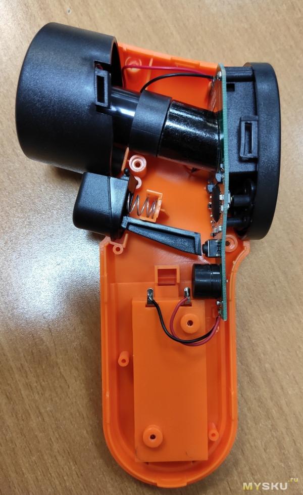 Бюджетный бесконтактный пирометр HW550, диапазон -50...+550C (с разборкой)