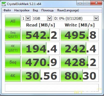SSD Suntrsi S660ST 120Gb мини-обзор