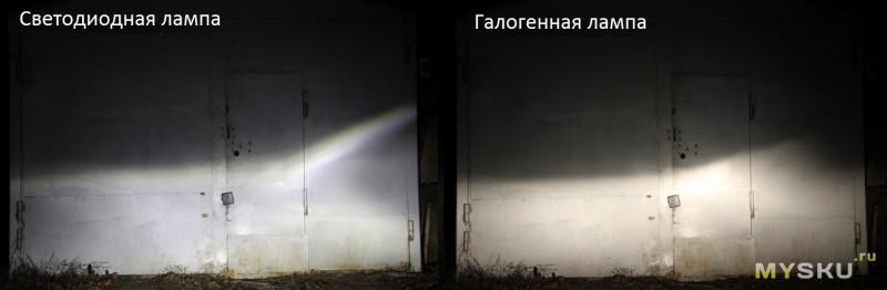 Бюджетные и компактные светодиодные лампы H7