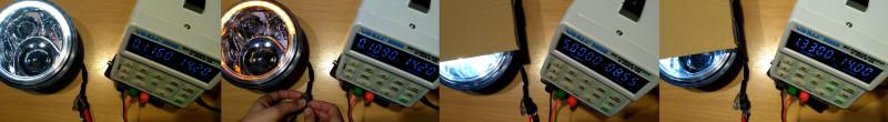 Светодиодные фары 7 дюймов