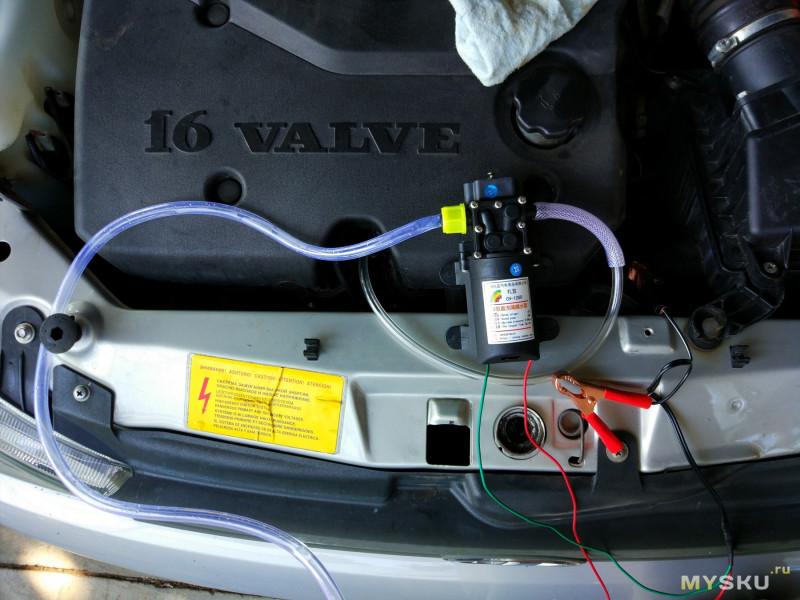 Ручной насос для откачки масла из двигателя своими руками фото 841