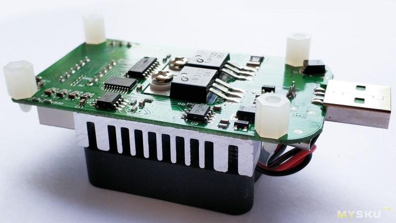 Новая электронная нагрузка RD LD25. Мощностью 25Вт, наличием LED индикатора, плавной регулировкой и портами Type-c, MicroUSB.