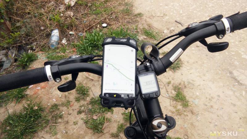Держатель телефона на велосипед от Floveme
