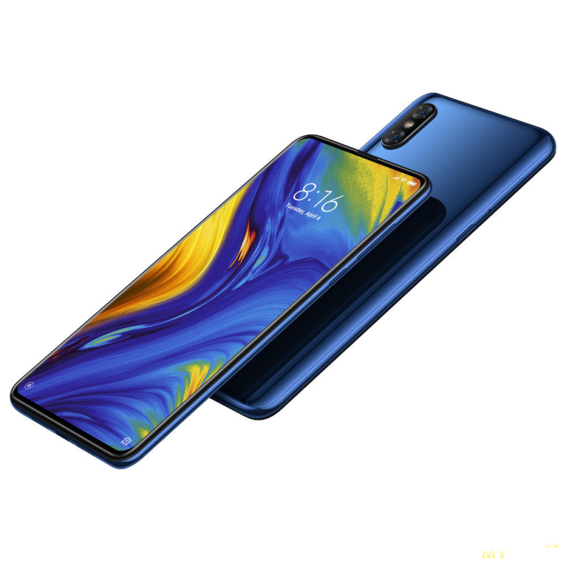 Акция на 5G смартфон Xiaomi MIX 3 5G 6GB 64GB NFC Global по цене 382.99$  (с учетом купона $100)