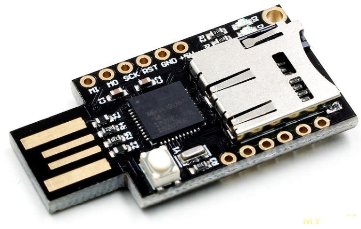 Модуль со слотом под карту памяти MicroSD для Arduino Leonardo R3 за  $6.37