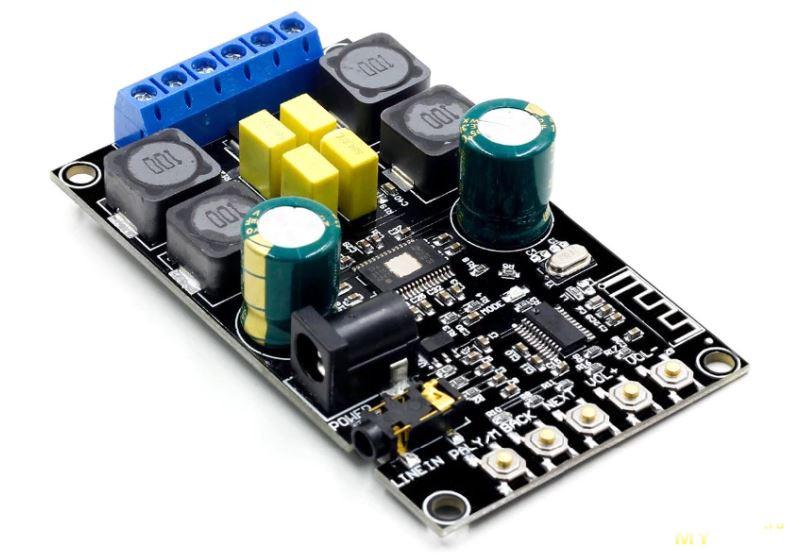 Новый Bluetooth 5.0 аудио модуль VHM-316 2x50W за 7.12$
