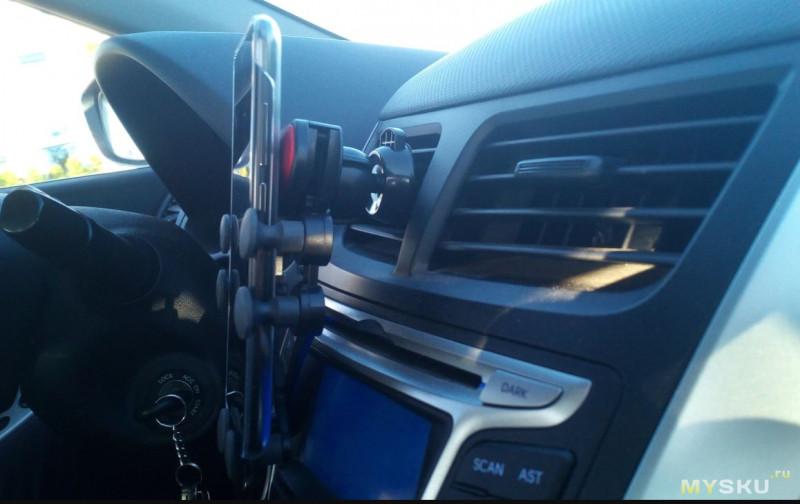 Гравитационный держатель телефона в автомобиль с купоном за 1.93$