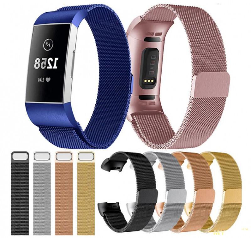 Промокоды на ремешки и браслеты для умных часов от Garmin и Fitbit