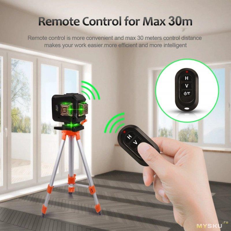 Лазерный нивелир (уровень) Goxawee 3D 360 12линий за 36.51$