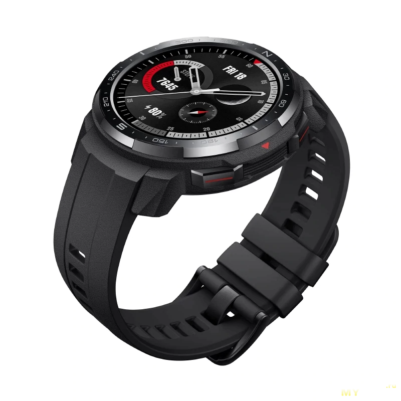 "Смарт часы Honor Watch GS Pro (AMOLED 1.39"", пульсометр, SpO2, BT, 5 АТМ) за 176$"