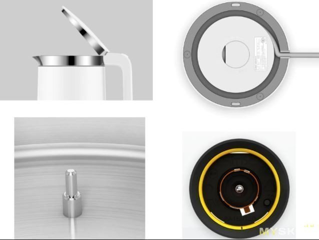 Электрический чайник Xiaomi Smart electric kittle (умный чайник с Bluetooth) - за 24.66$ (RU склад)