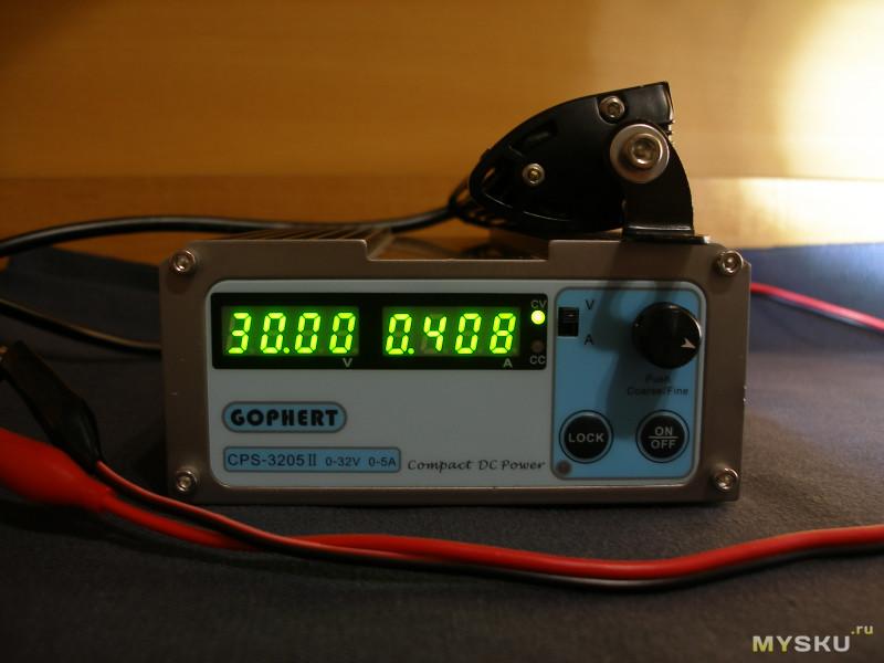 Два 7-дюймовых 18W светодиодных светильника для «внедорожья» (рабочий свет и т.д.).