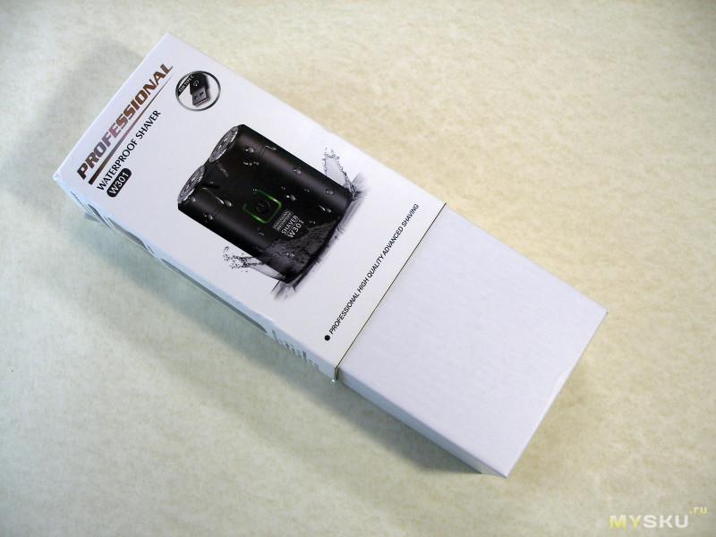 Миниатюрная аккумуляторная электробритва Kemei W301.