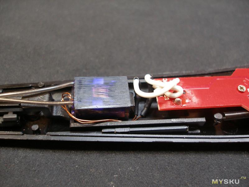 Кухонная электродуговая аккумуляторная зажигалка.
