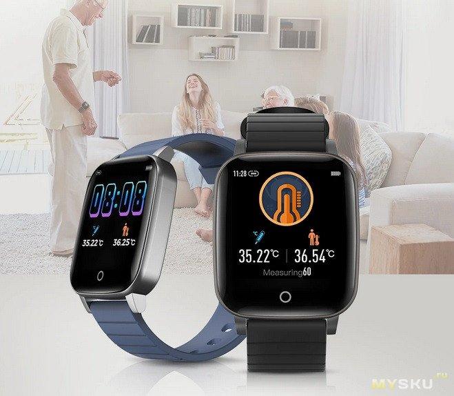 Новая версия смарт часов-браслета BlitzWolf. BW-HL1T с дополнительными функциями по предзаказу за 22,99 $