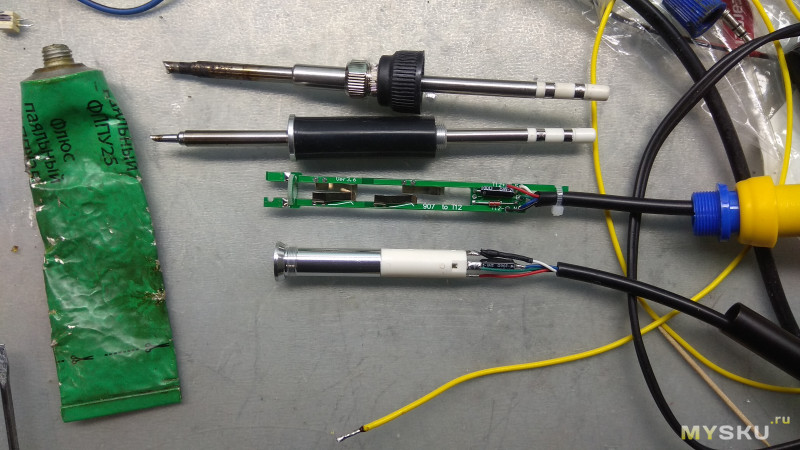 Обзор/сравнение алюминиевой ручки FX9501 для паяльных станций на STM32 и немного о жалах к ним.