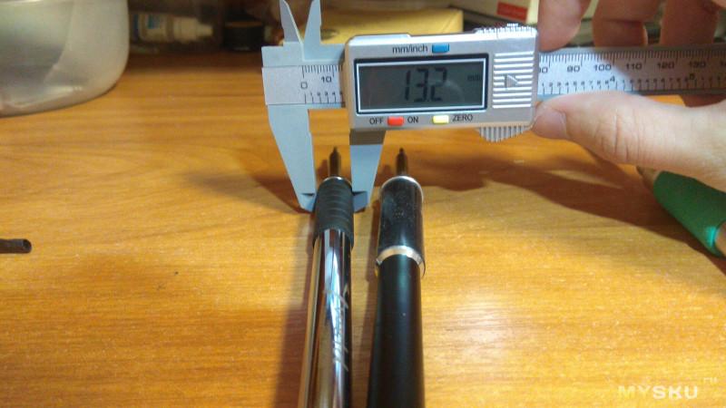 Мини обзор стальной  ручки  FX9501 для паяльных станций на STM32