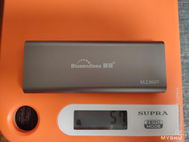 Кейс для SSD диска Blueedless M280A M.2 NGFF